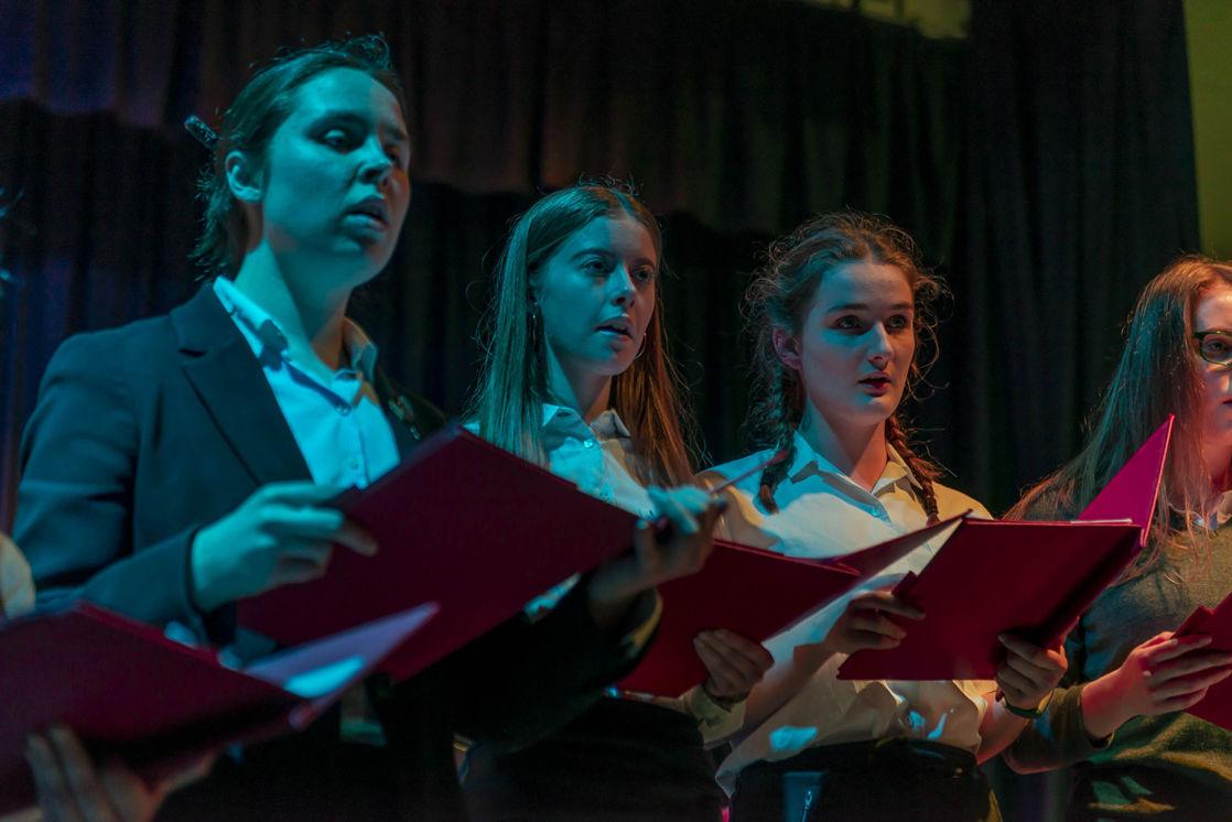 wycliffe girl choir singing