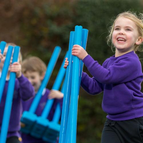 wycliffe nursery girl in sports uniform