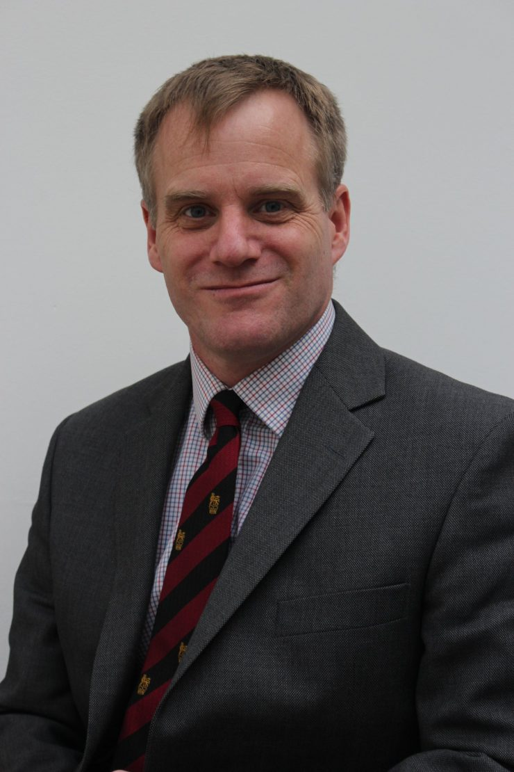 Brigadier Richard Clements CBE
