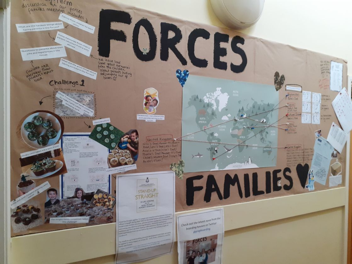 Boarding Forces Family display