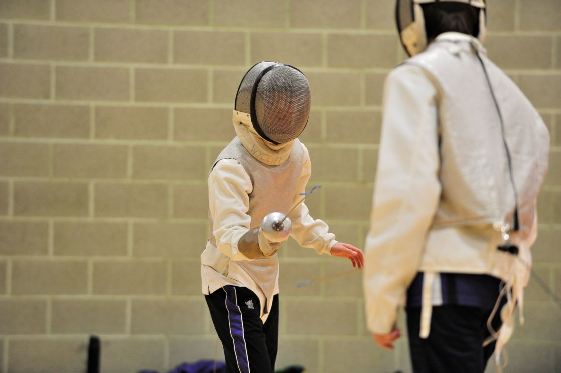 wycliffe pupils fencing