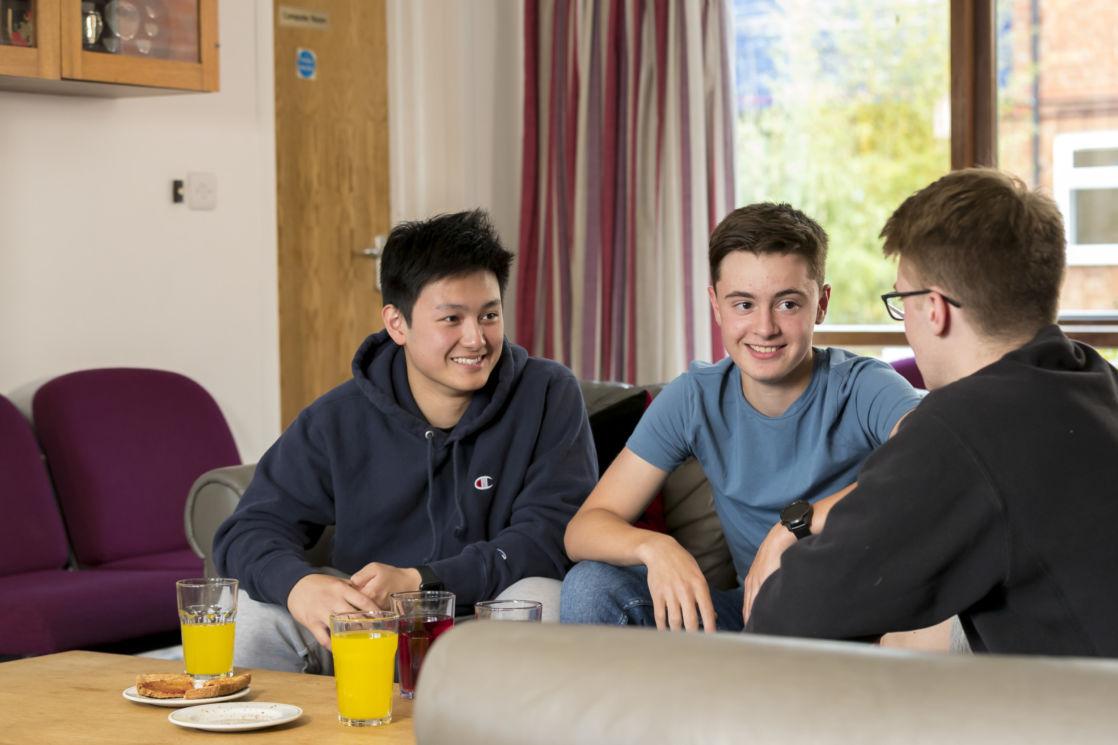 wycliffe boarding boys in the lounge room