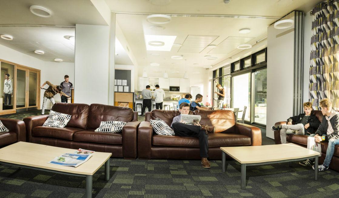 wycliffe boarding school lounge room