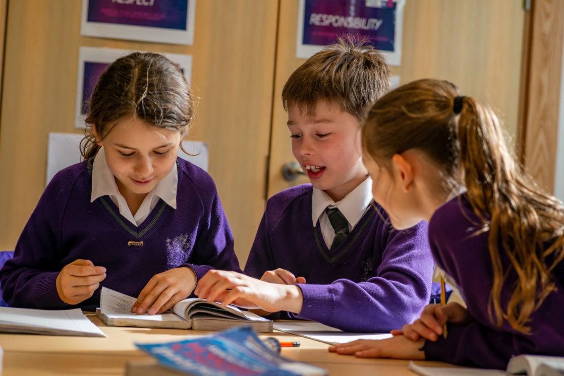 wycliffe children learning in class