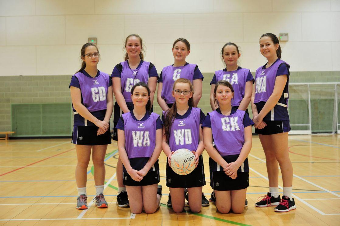 wycliffe netball team members