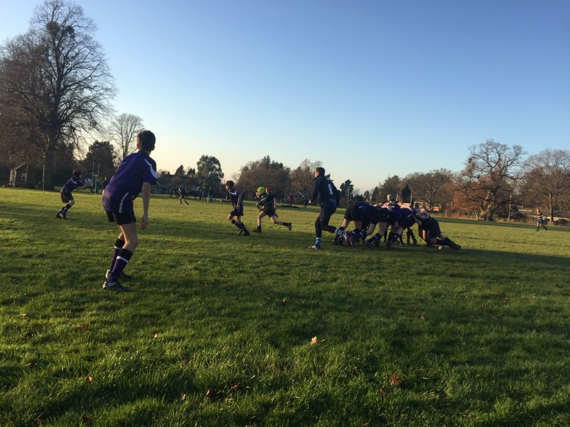 wycliffe boys playing rugby