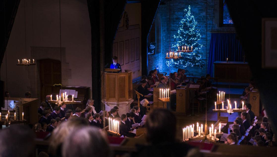 wycliffe college christmas mass chorus