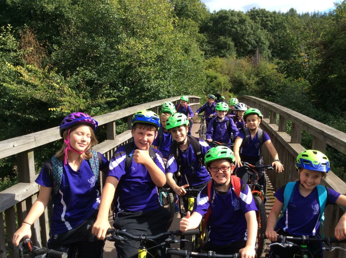wycliffe kids on a bike expedition
