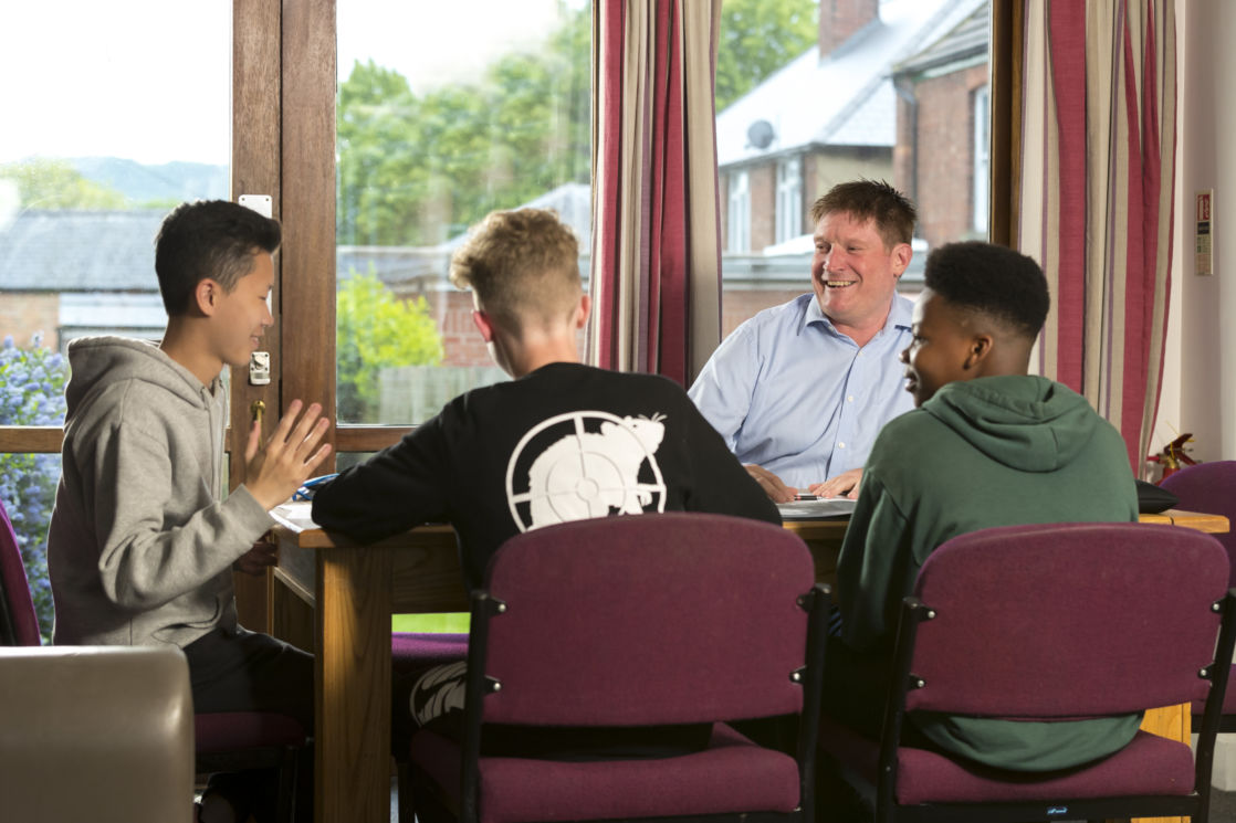 senior school boarders at wycliffe college in gloucestershire