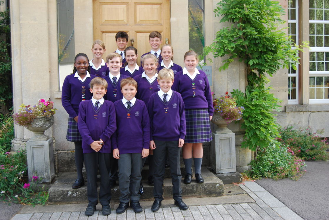 wycliffe students posing together