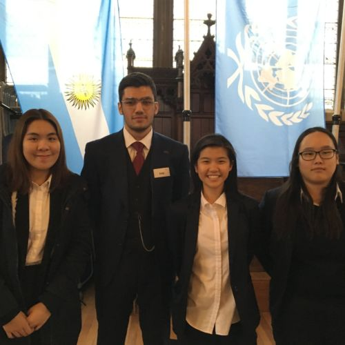 wycliffe college members of the UN model