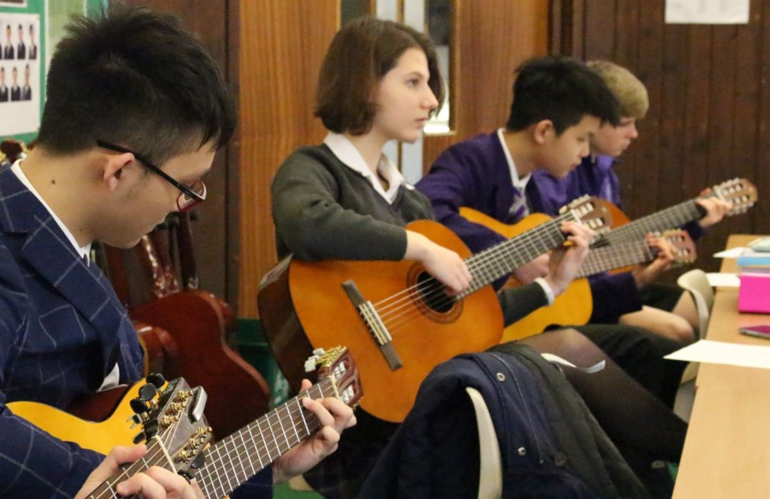 wycliffe college guitar group