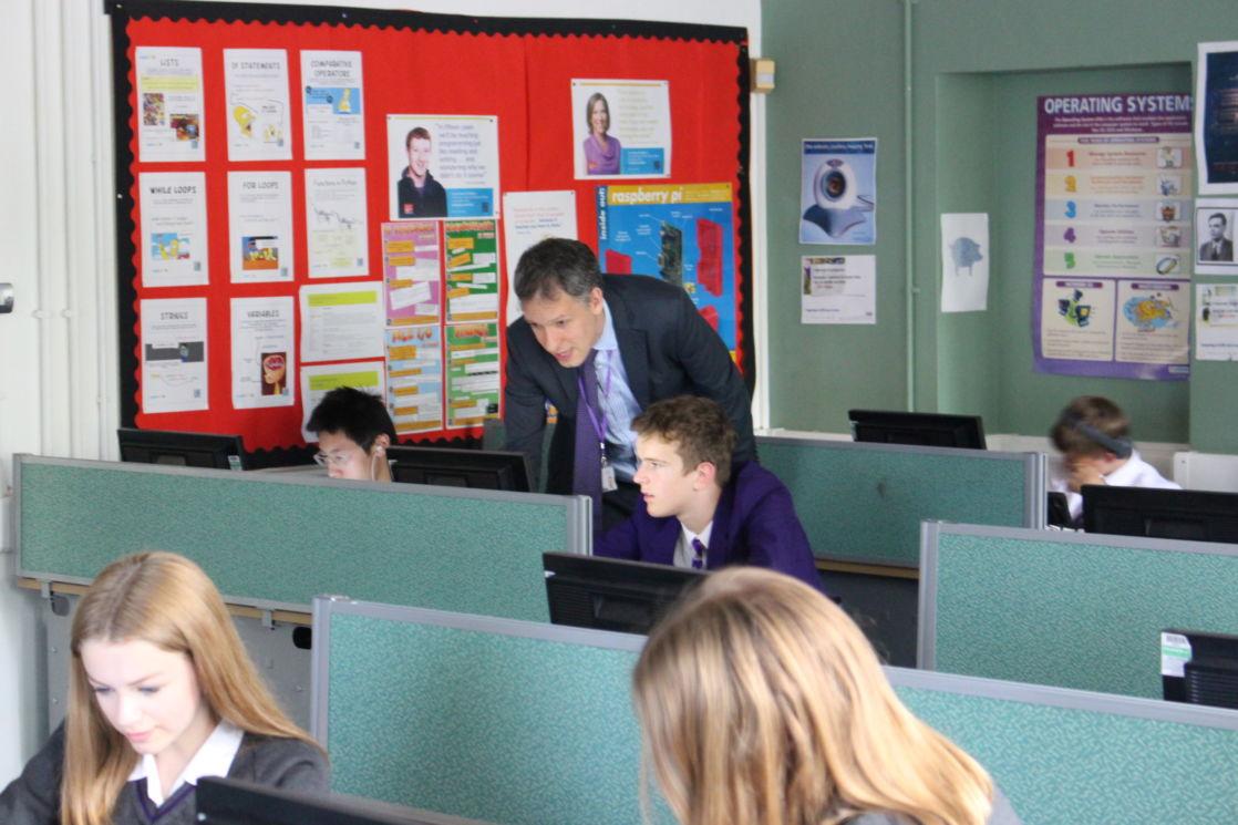 wycliffe pupils computer coding