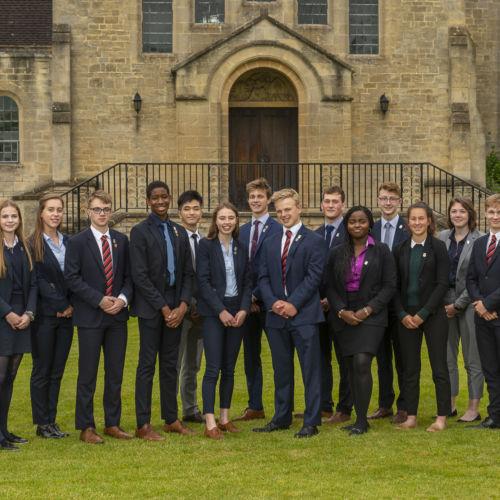wycliffe senior pupils group photo