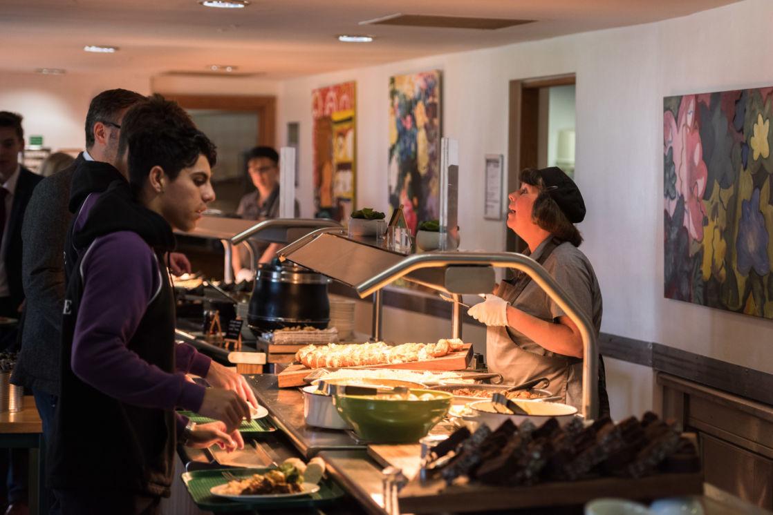 wycliffe seniors ordering food