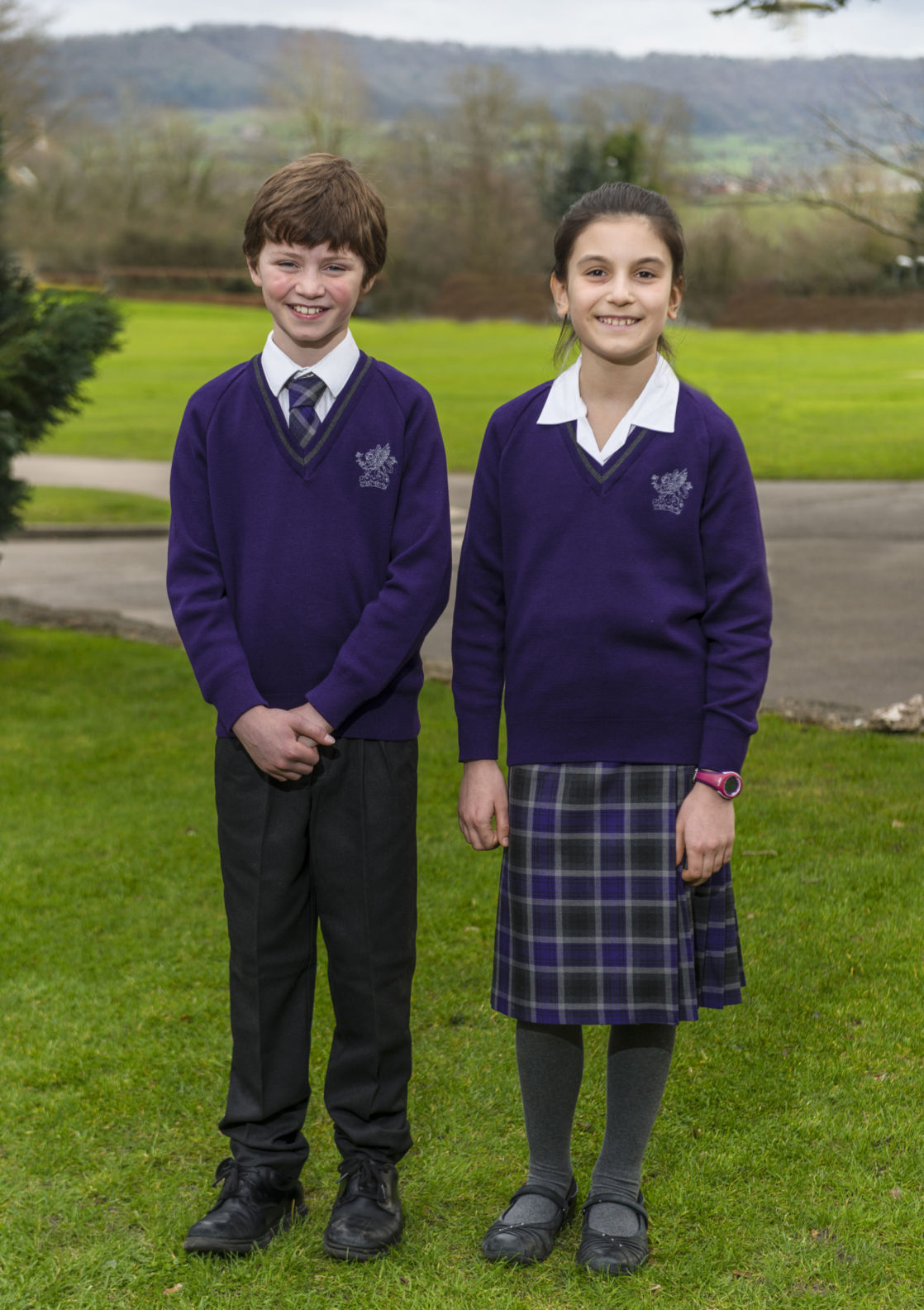 wycliffe prep students wearing the uniform