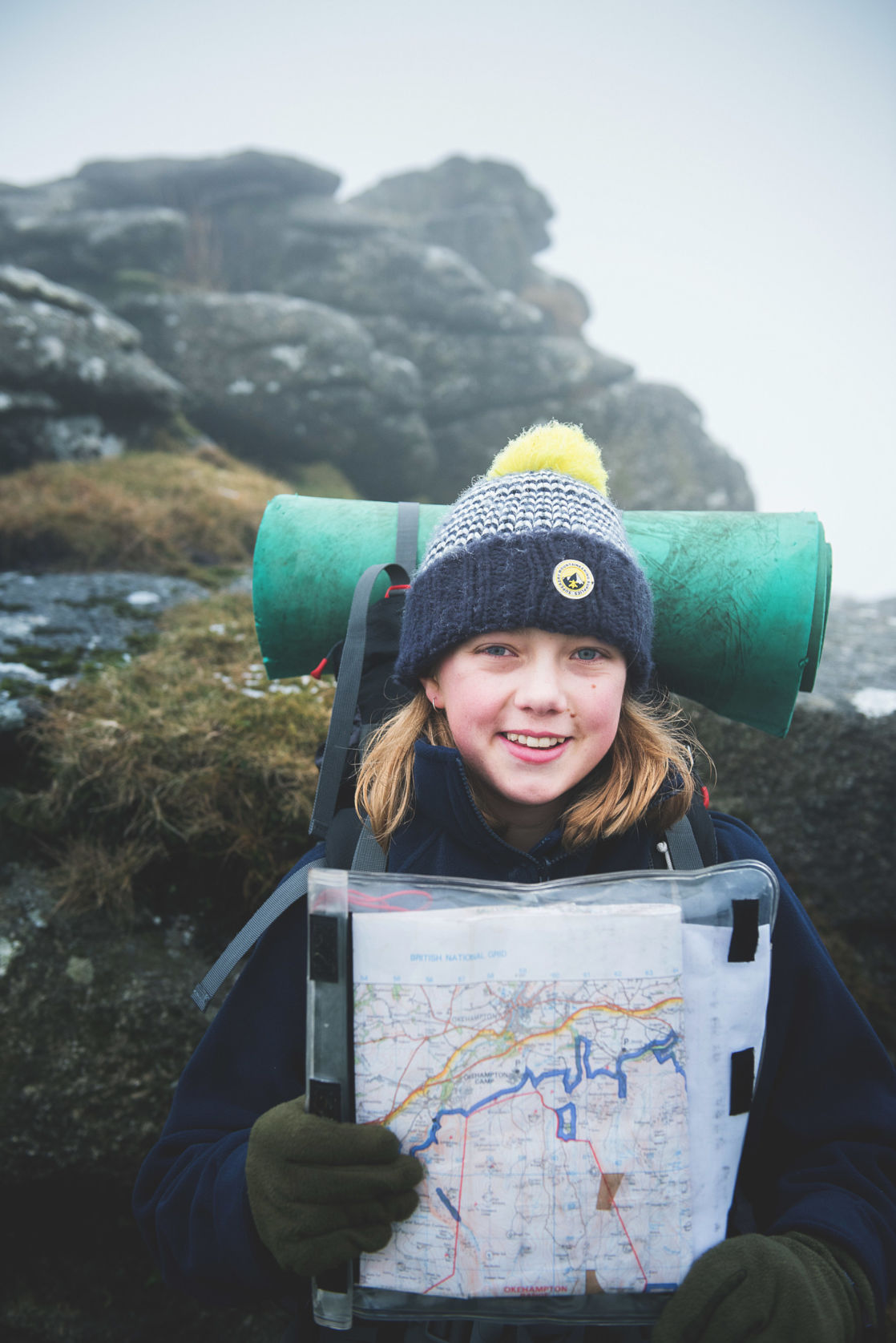 wycliffe pupil on a trip to dartmoor