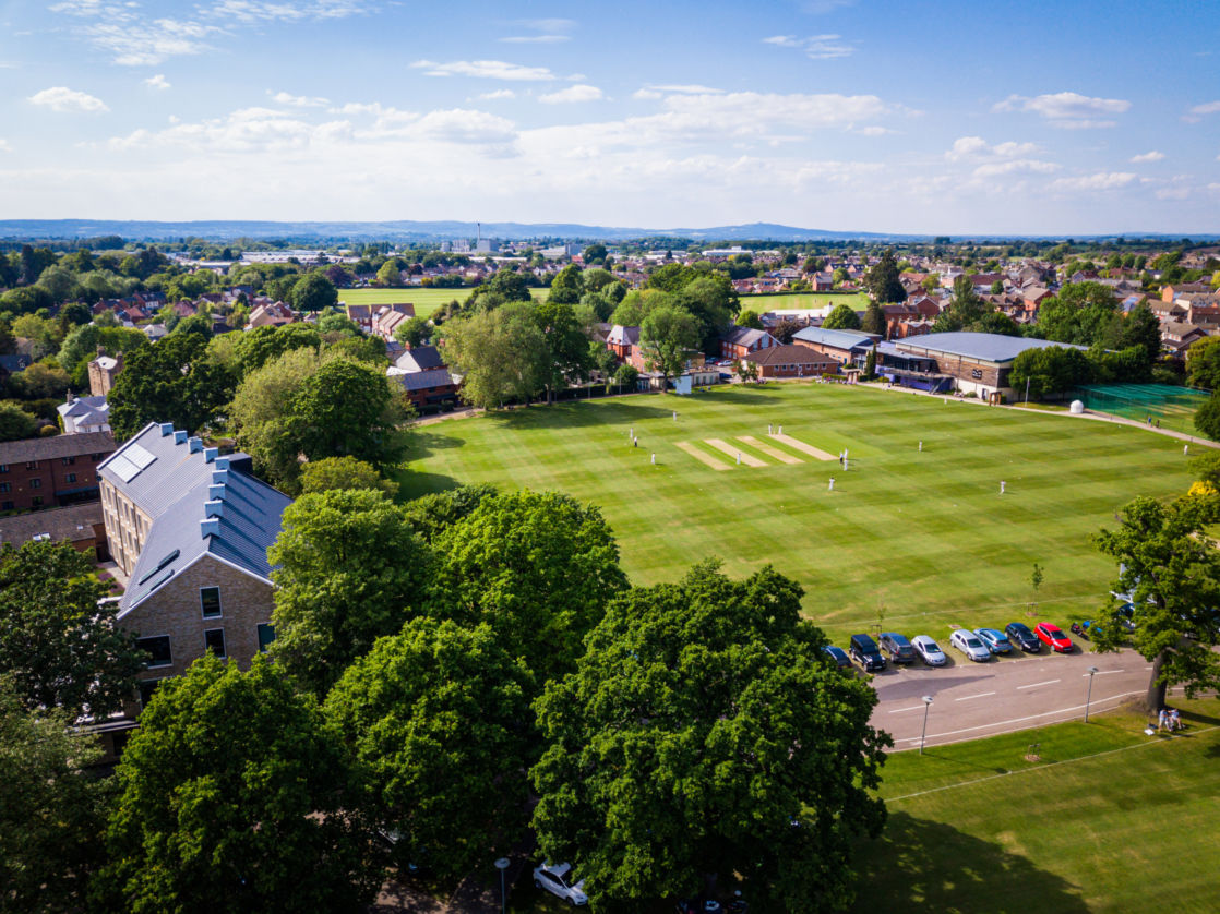 Wycliffe College grounds from a birds eye view