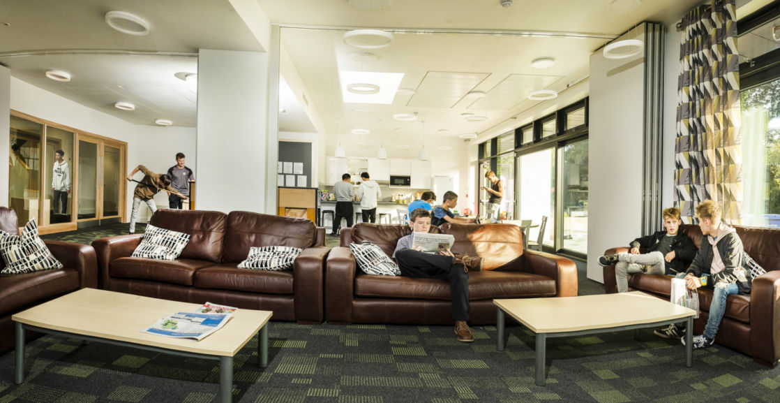 wycliffe senior students lounge room