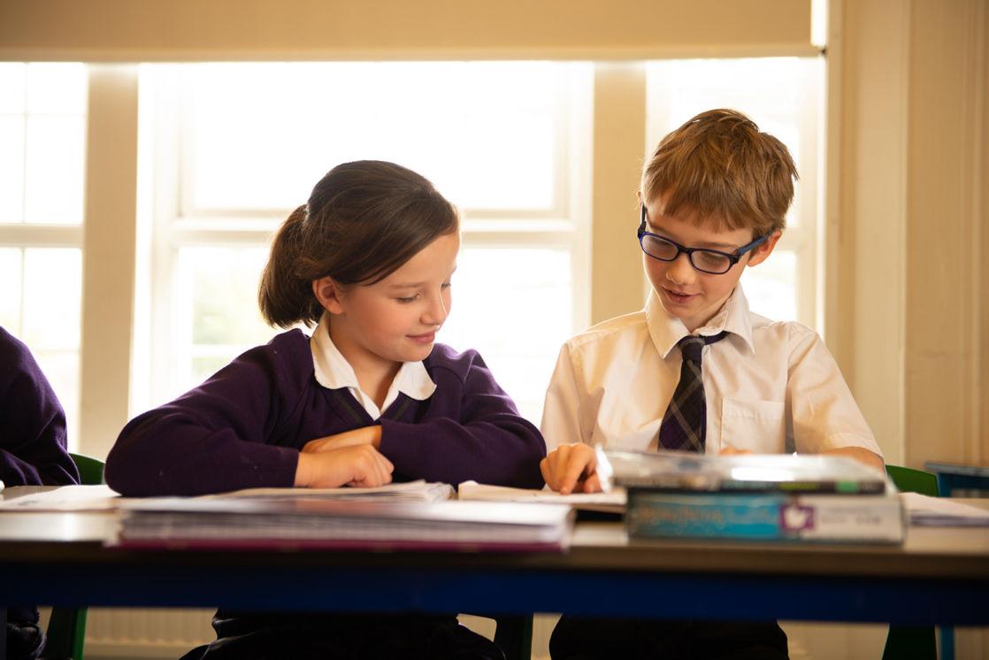 wycliffe kids doing class activities