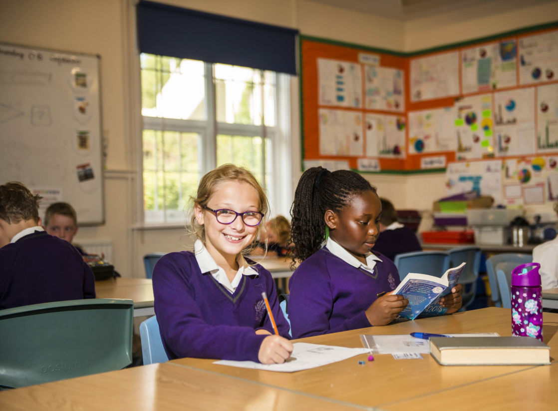students at wycliffe prep school