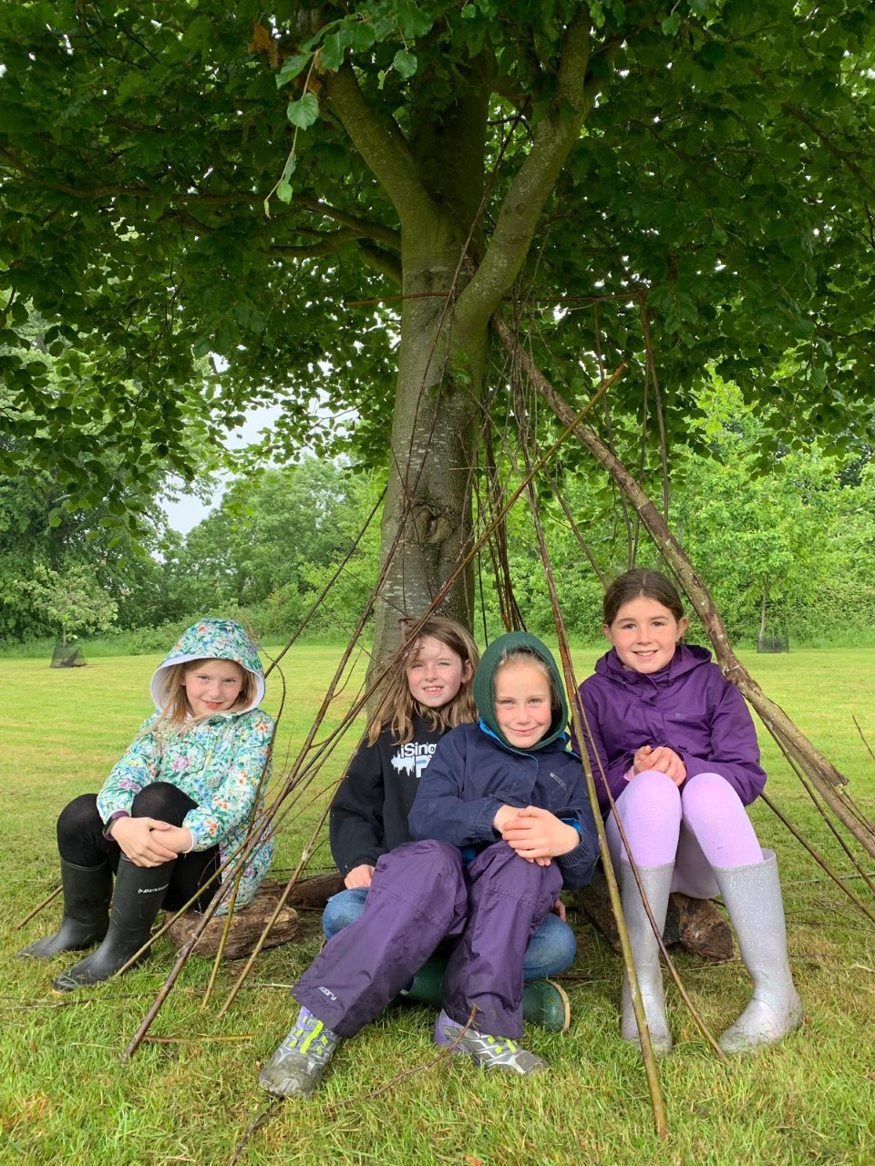 wycliffe kids during Manor Farm holidays