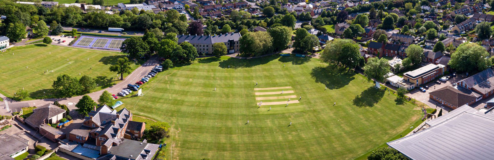 wycliffe college grounds seen from above