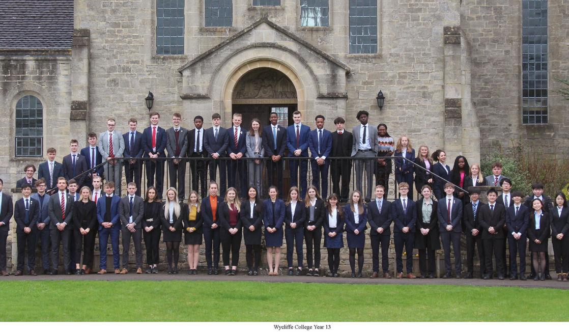 Wycliffe alumni year 13