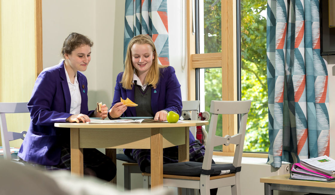 senior school boarders studying at wycliffe boarding school uk