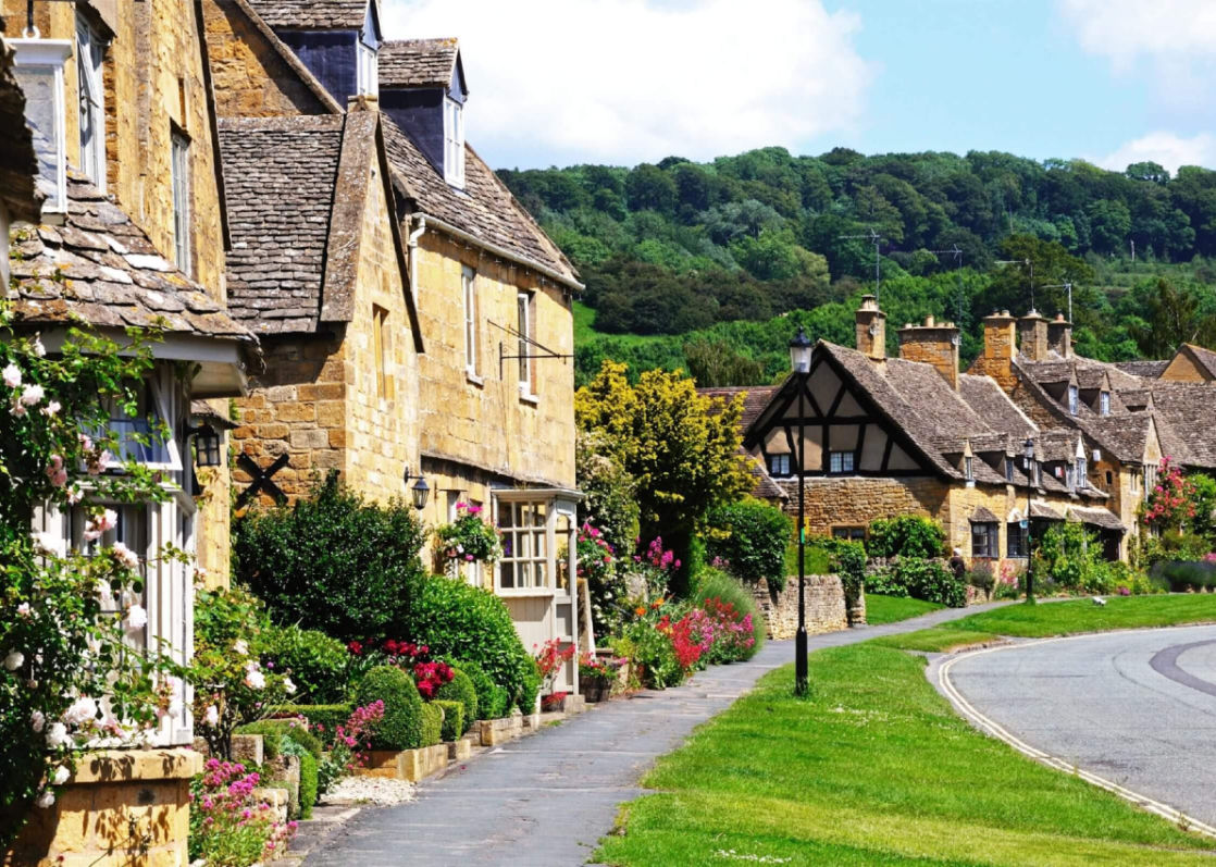Cotswolds village cottages