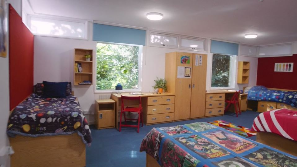 room inside wycliffe dorm