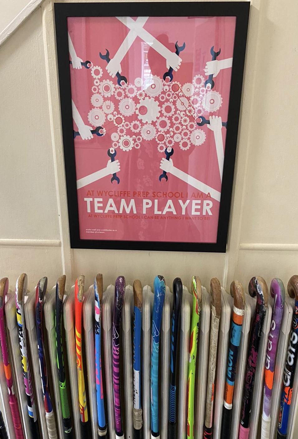 team player image in prep boarding school