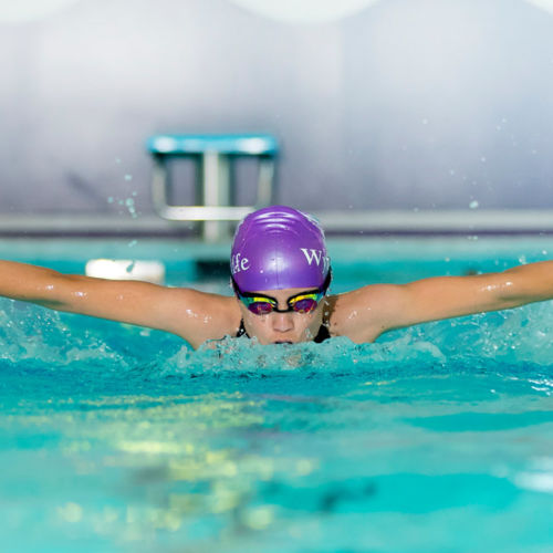 Pupil Swimming at Wycliffe