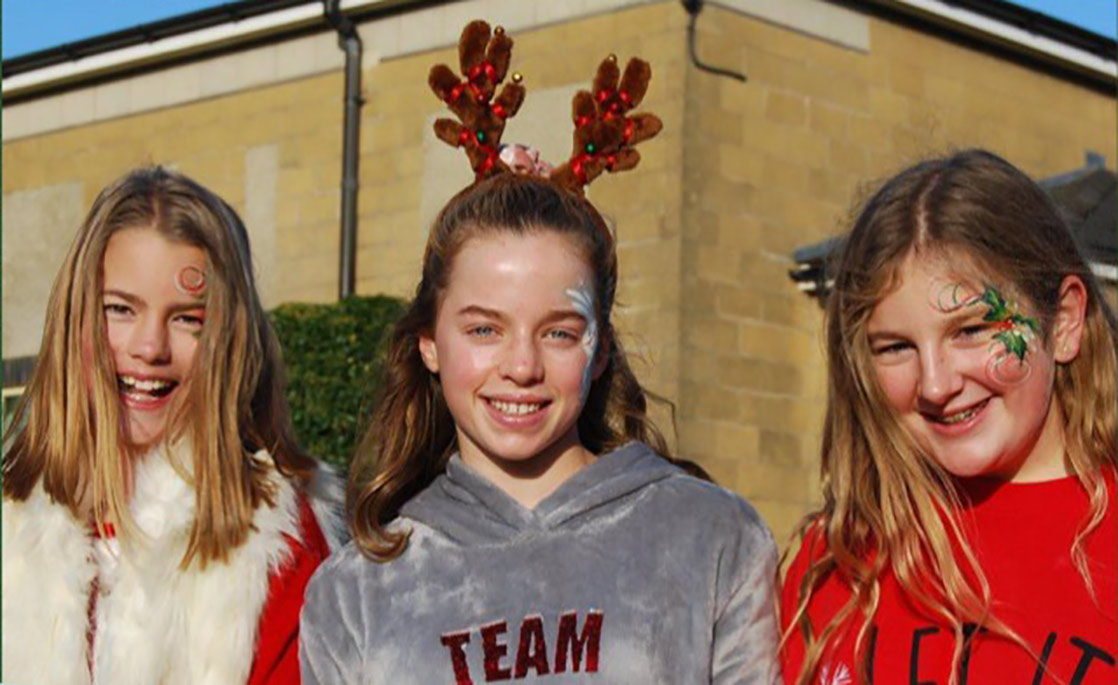 Alissa, Olivia and Bella organised the Christmas Fayre and raised over £4,000 for charity.